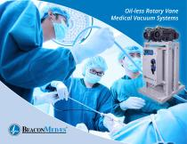 Oil-less Rotary Vane Medical Vacuum Systems