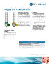 Oxygen and Air Flowmeters - 1