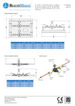 Pressure Reducing Sets Simplex & Duplex HTM/ISO Specification Sheet - 2