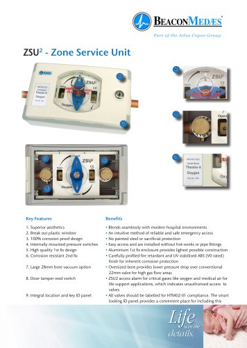 ZSU² Area Valve Service Unit HTM/ISO Brochure