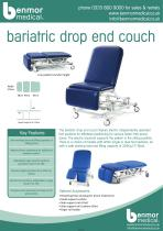 bariatric drop end couch - 1