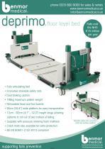deprimo floor level bed
