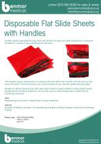 Disposable Flat Slide Sheets with Handle - 1