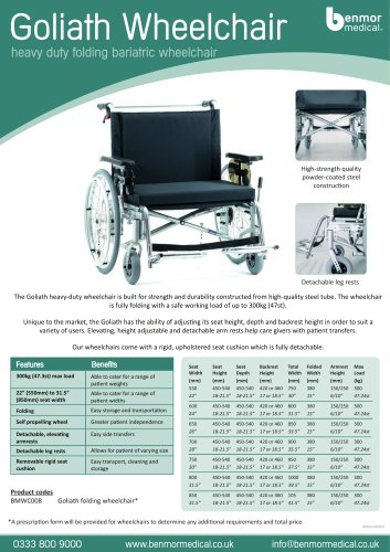 goliath wheelchair