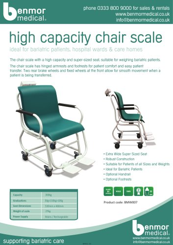 high capacity chair scales