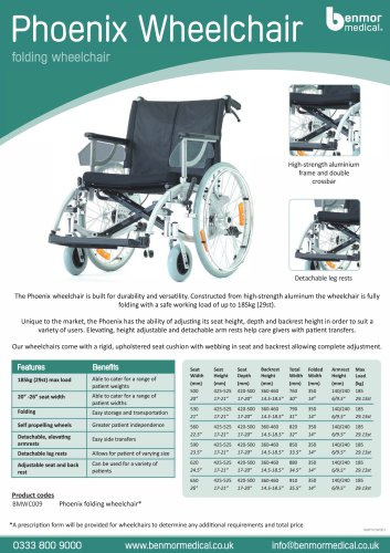 phonix wheelchair