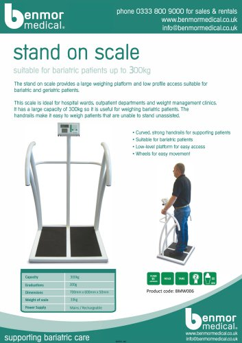 stand on scale