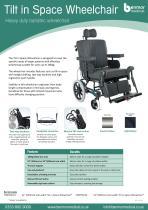 tilt in space wheelchair - 1