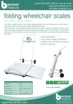 Wheelchair Scales - 1