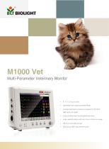 M1000vet veterinary monitor