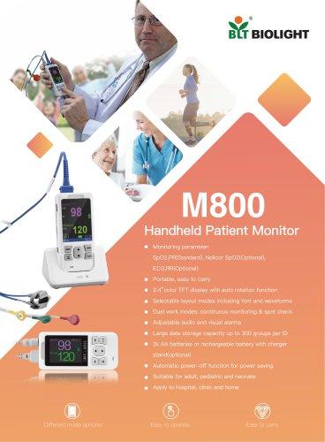 M800 handheld oximeter