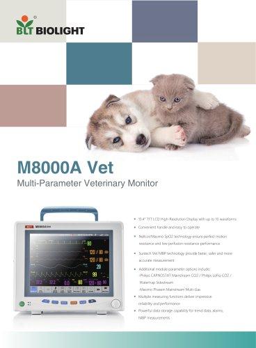 M8000Avet veterinary monitor