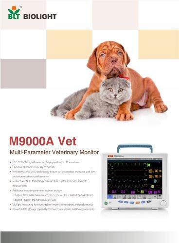 M9000A VET veterinary monitor