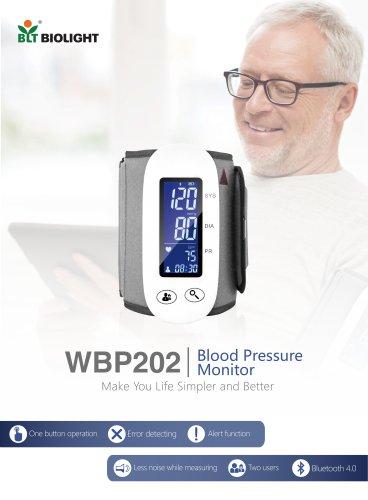 WBP 202 blood pressure monitor
