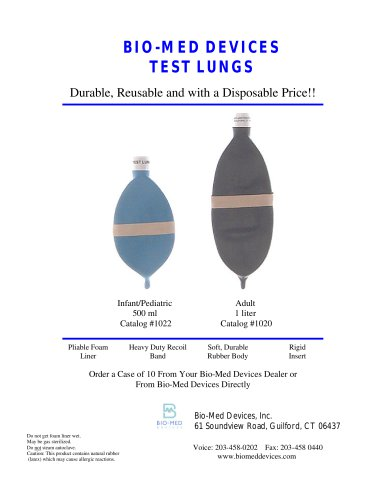 Test Lungs