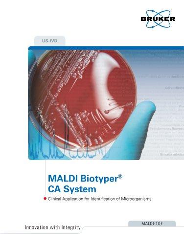 MALDI Biotyper® CA System