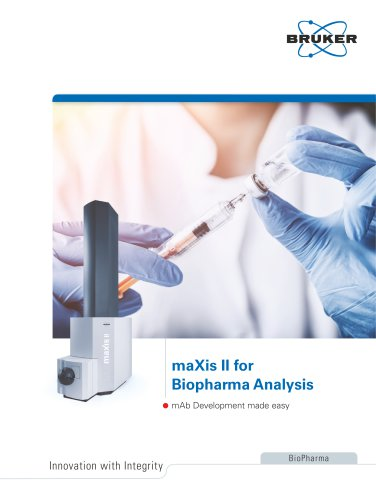maXis II for Biopharma Analysis