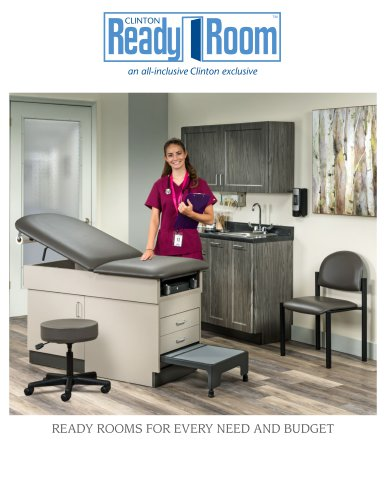 READY ROOMS FOR EVERY NEED AND BUDGET