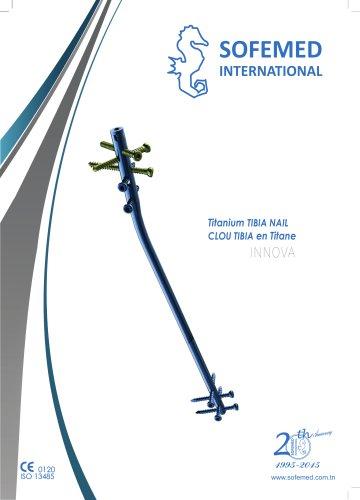 Titanium TIBIA NAIL
