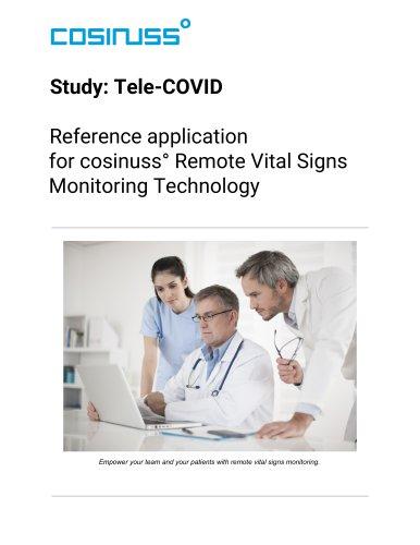 cosinuss° Remote Vital Signs Monitoring