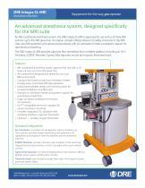 DRE Integra SL-MRI Anesthesia Machine