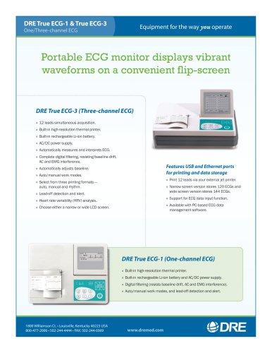DRE True ECG-1 & True ECG-3