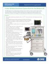 DRE Ventura CS5 Anesthesia System