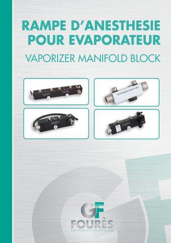 Vaporizer manifold block