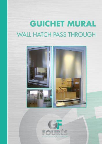 Wall hatch pass through