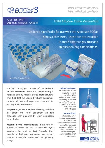 EoGas 3 - Refill Kits