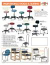 PROFESSIONAL STOOLS & SEATING