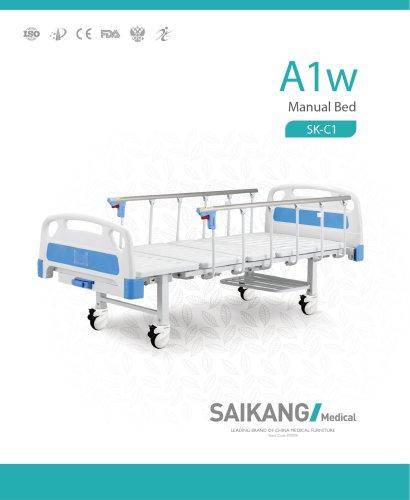 A1w Manual Bed SaikangMedical