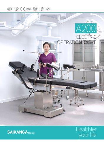 A200 Electric Operation Table SaikangMedical