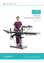 A205 Manual Operation Table SaikangMedical