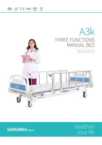 A3k Manual bed SaikangMedical