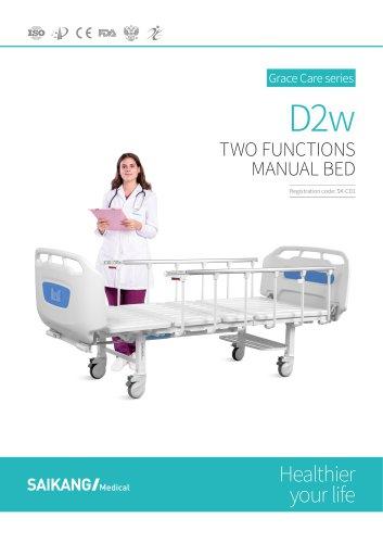 D2w Manual Bed SaikangMedical