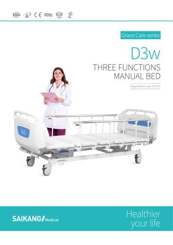 D3w Manual Bed SaikangMedical