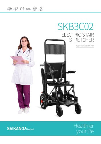 SKB3C02 Electric Stair Stretcher SaikangMedical