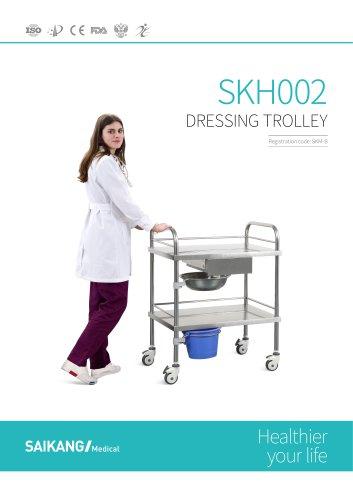 SKH002 Dressing-Trolley_SaikangMedical