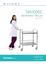 SKH006C Instrument-Trolley_SaikangMedical