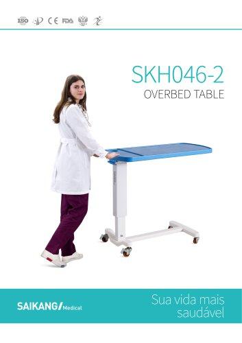SKH046-2 Overbed-Table_SaikangMedical