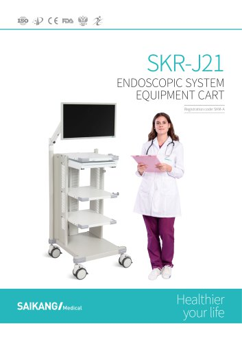 SKR-J21 Endoscopic-System-Equipment-Cart_SaikangMedical