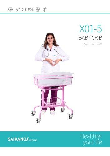 X01-5 Baby-Crib_SaikangMedical