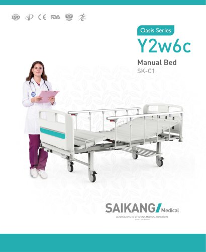 Y2w6c Manual Bed SaikangMedical