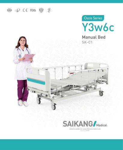 Y3w6c Manual Bed SaikangMedical