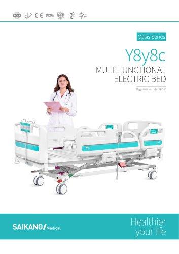 Y8y8c Electric ICU Bed SaikangMedical