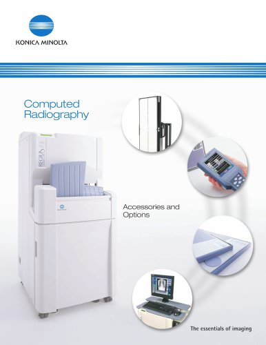 Computed Radiography Accessories and Options