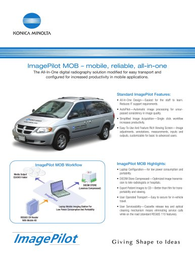ImagePilot MOB ? mobile, reliable, all-in-one