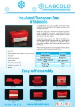 Labcold Insulated Transport Box - 1
