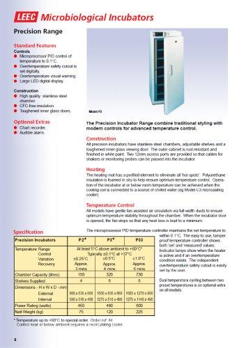 LEEC Precision Incubator
